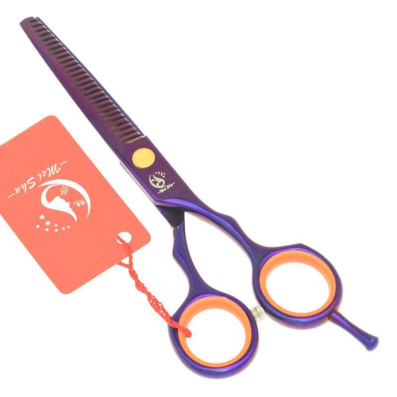 8049d5f53 Compre 5.5 Meisha Profissional De Cabeleireiro Tesoura De Desbaste Cabelo  Humano Tesoura Japão Barbeiro Cortador De Corte Para O Salão De Cabeleireiro  Com ...