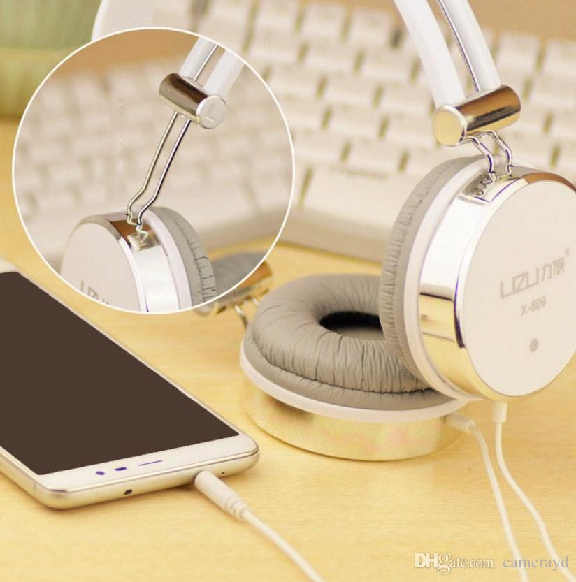 Latest Hot Items 2018 Hot Sell Low Price X-809 Headphones Subwoofer Voice Call Game Music Tablet Mobile Phone Universal