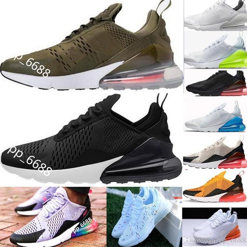 online store 000ea eb163 Acquista 2018 Nike Air Max Flair 270 Maxes Mens Flair Triple Nero 270  Trainer Sport Shorts Donna Airs Sole 270 Sneakers Spedizione Gratuita 336 A   78.06 Dal ...