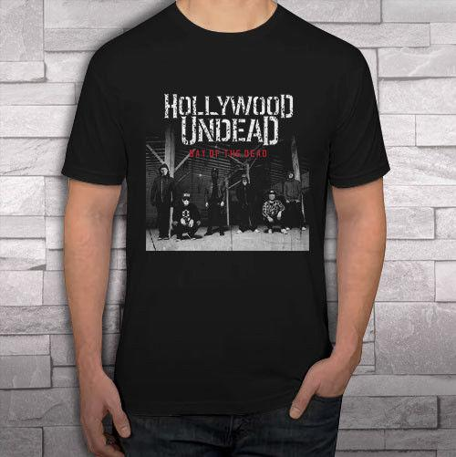 0cfd172b98c3f Hollywood Undead HU Day Of The Dead Men S Black T Shirt Shirts Tee S 2XL  Hilarious T Shirts Designer T Shirt From Printedtshirt