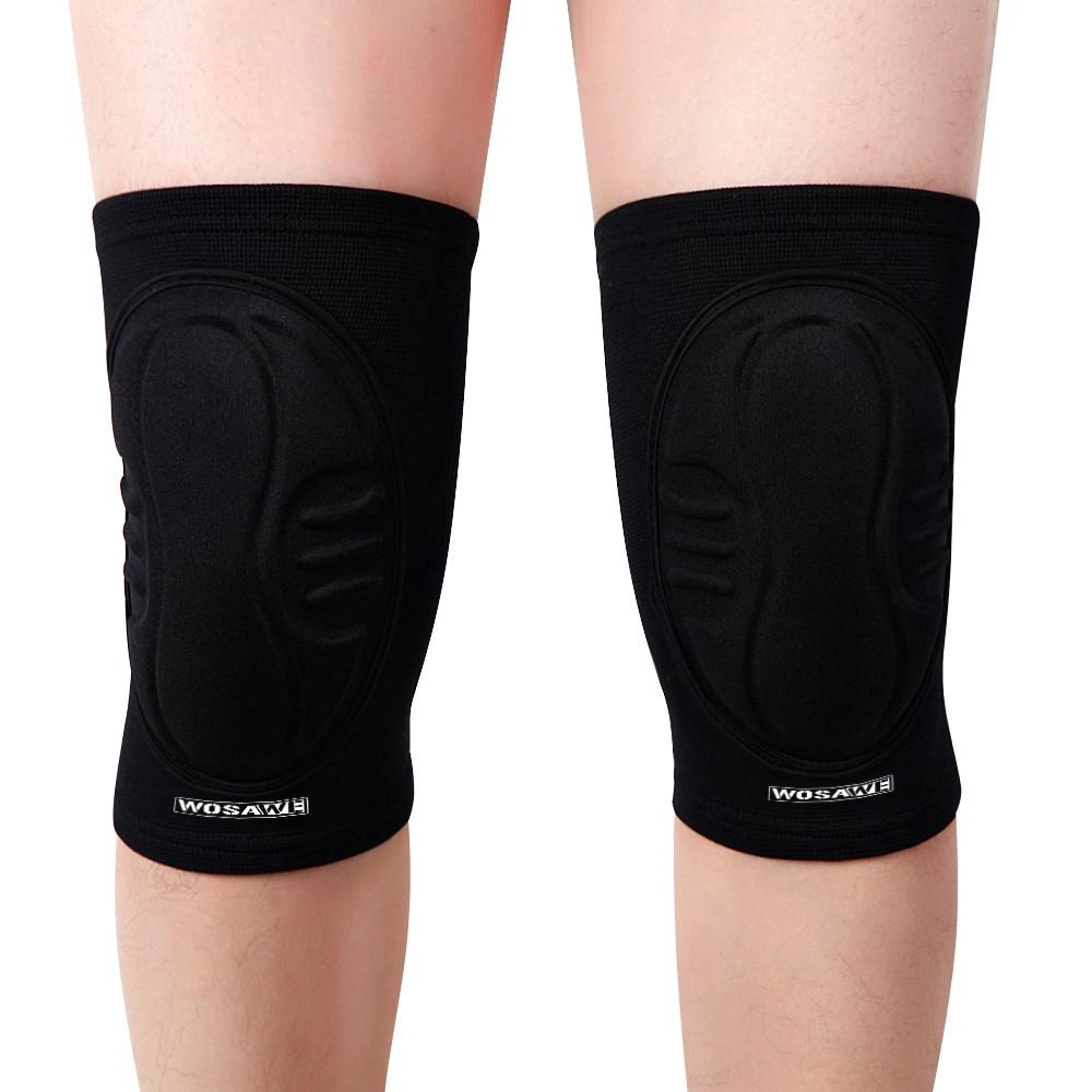 d02e0541d092f7 2019 Outdoor Sports Knee Pads Men Women Youth Protection Fall Breathable  Anti Sweat EVA Padded Multi Function Skating Ski Knee Pad From Fwuyun, ...
