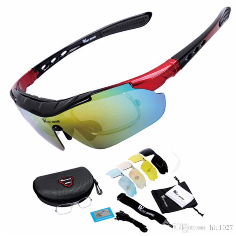 c3692beb36a New Cycling Glasses 5 Lens Anti-fog With Mypia Frame Sport MTB Bike ...