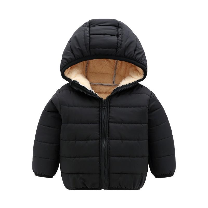8c0141ceaaa0 Children Winter Jackets Baby Girls Cotton Padded Kids Boy Jacket ...