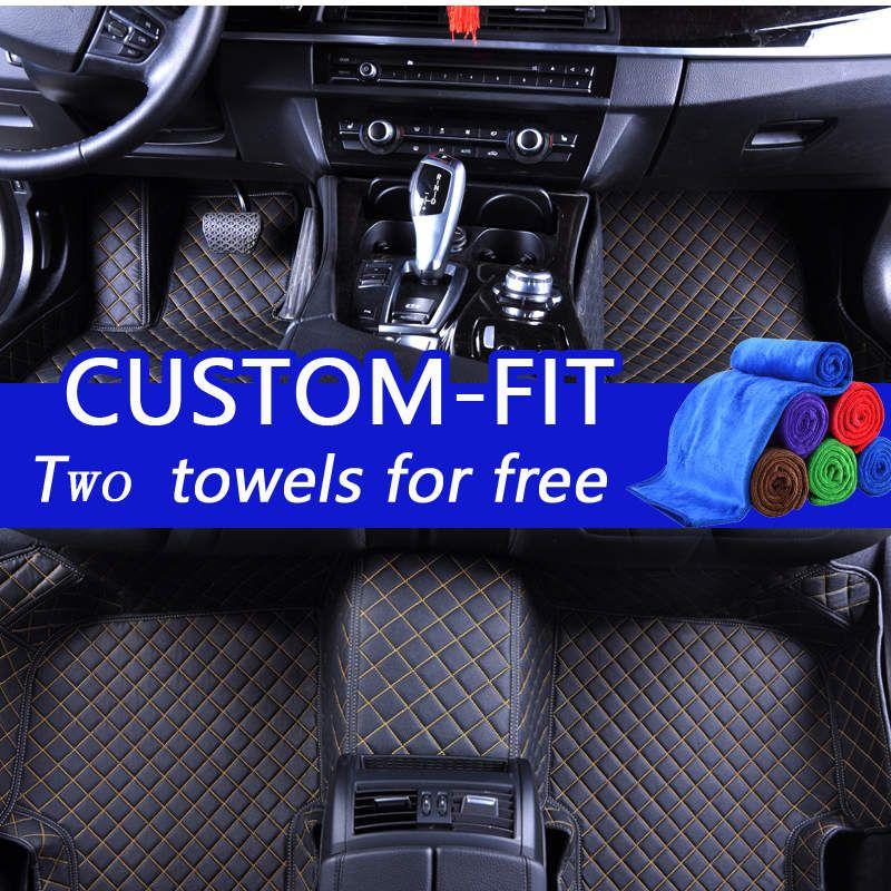 2019 Wholesale Custom Car Floor Mats For Honda Accord 2010 Luxury 3d