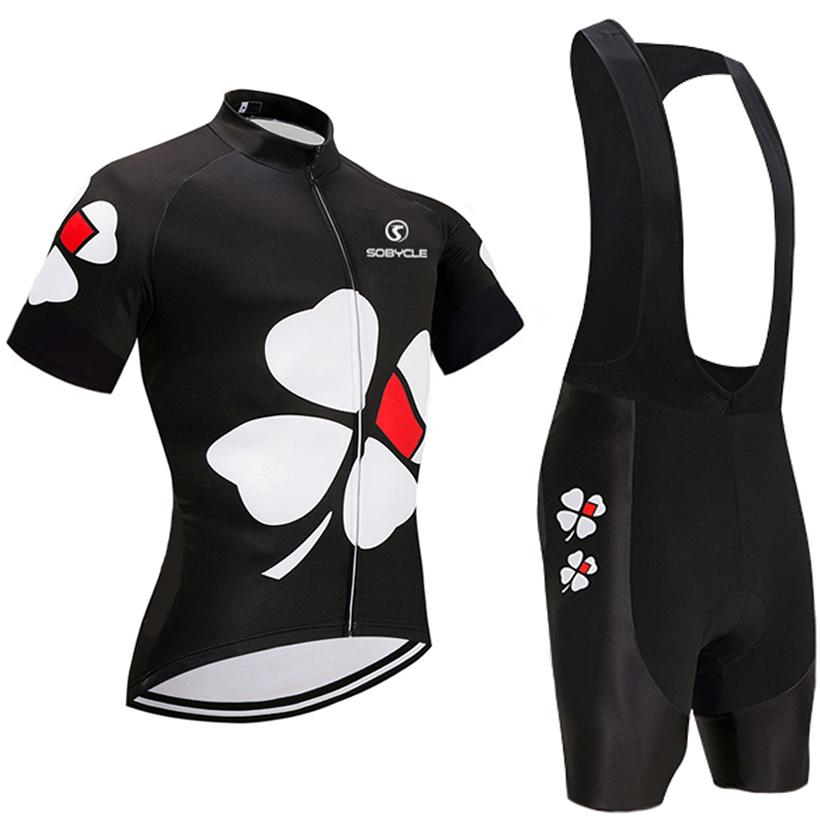 15281da5785 Summer Spring 2018 UCI Team BLACK Flower Pro Cycling Jersey 9D Gel Pad Bike  Shorts Set Ropa Ciclismo Summer Bicycling Maillot Wear Bike Shirt Cycling  Outfit ...
