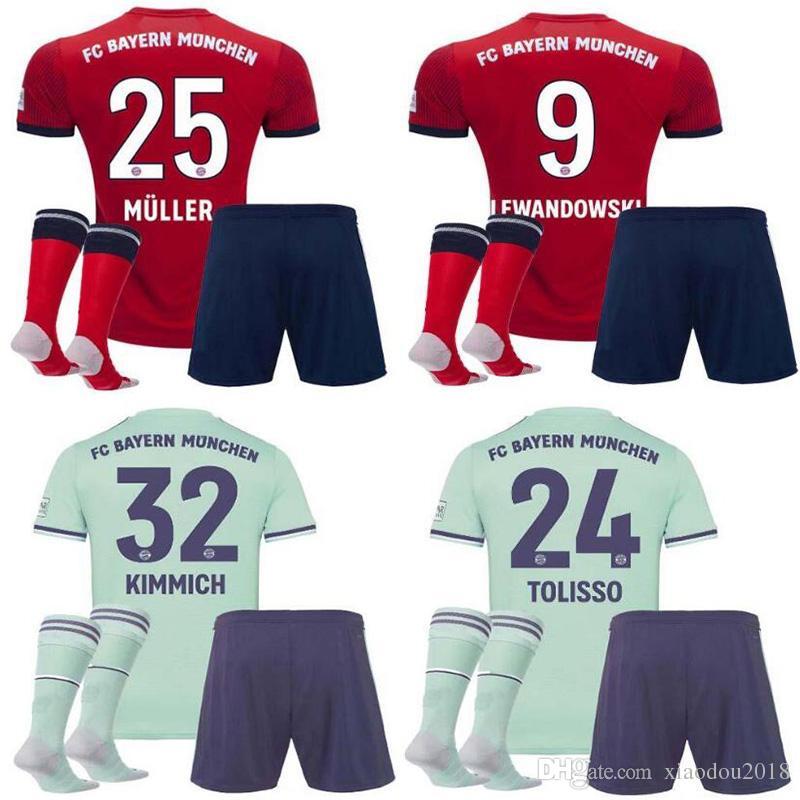 Camiseta Primera 19 Bayern Calidad 2019 Munich 2018 18 Rodriguez James Kit  Hummels Kimmich Fútbol Muller ... 2603d7ea4eccc