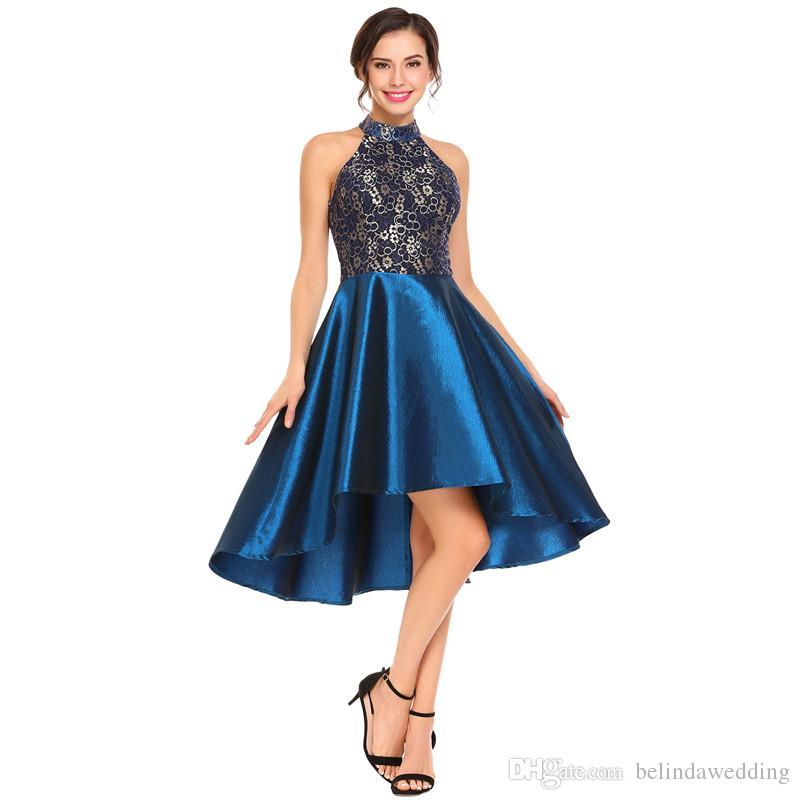 halter top cocktail dress