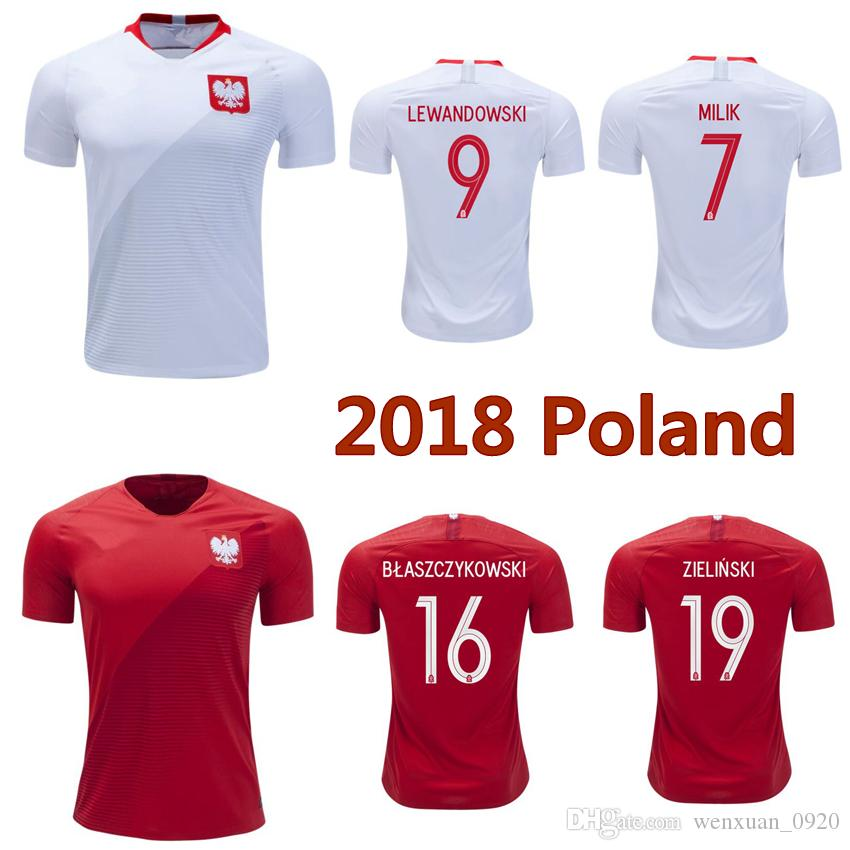 138f55a0d23 ... usa new bbcba 96980 online cheap 2018 poland soccer jerseys world cup  home away lewandowski milik ...