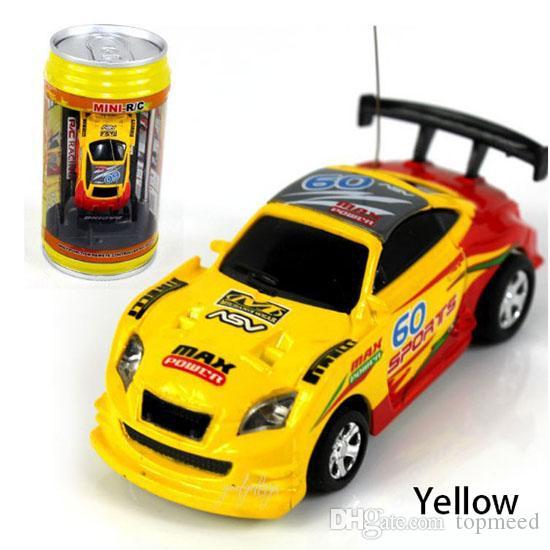 Rc arabalar 8 renk Mini-Racer Uzaktan Kumanda rc araba Coke Mini RC Radyo Uzaktan Kumanda Mikro Yarış 1: 63 Araba 8803
