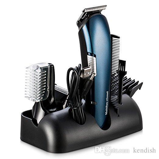 Beard Trimmer Hair Clipper Lithium Powered Grooming Kit Beard