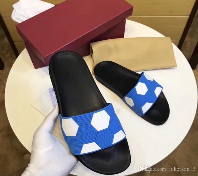 6d636cdca5e9 Luxury Brand 2018 New Men s Flip Flops Genuine Leather Slippers ...