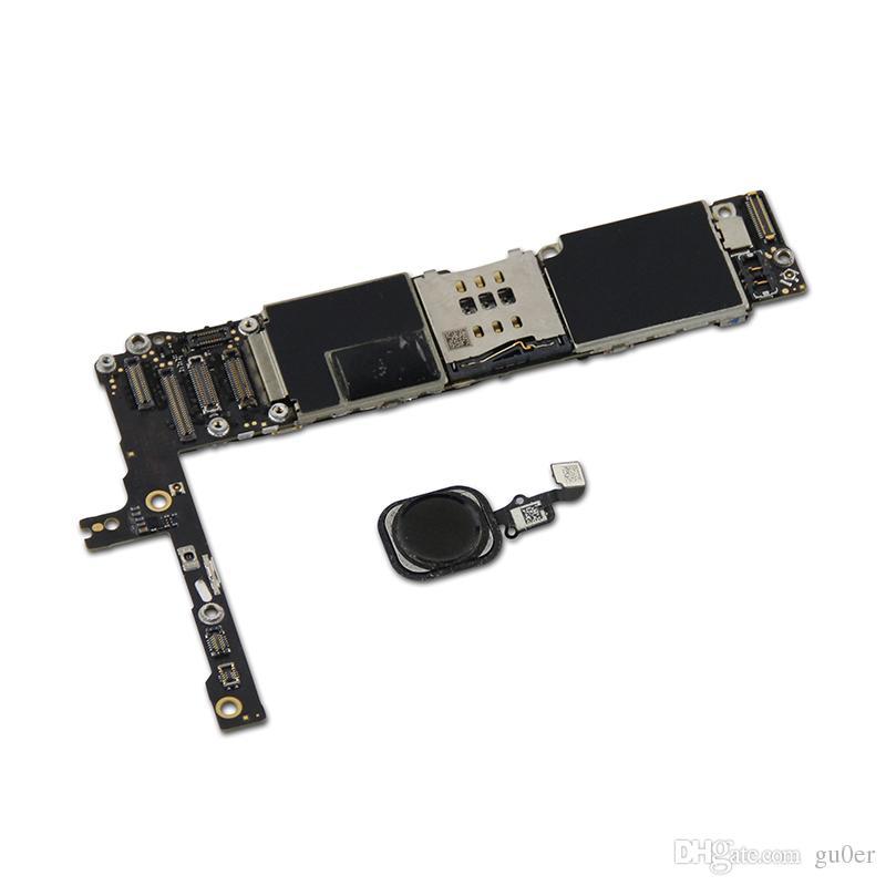 ل iPhone 6 Plus 16GB 5.5inch Factory غير مقفلة اللوحة مع معرف اللمس الأصل IOS تحديث دعم اللوحة الأم 100 ٪ اختبار جيد