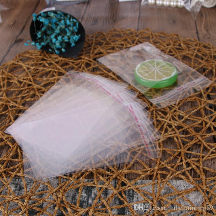 Derniers sacs en plastique / Transparent auto-adhésif Joint Sac OPP pour sachet emballage alimentaire sec / OPP Sacs Poly