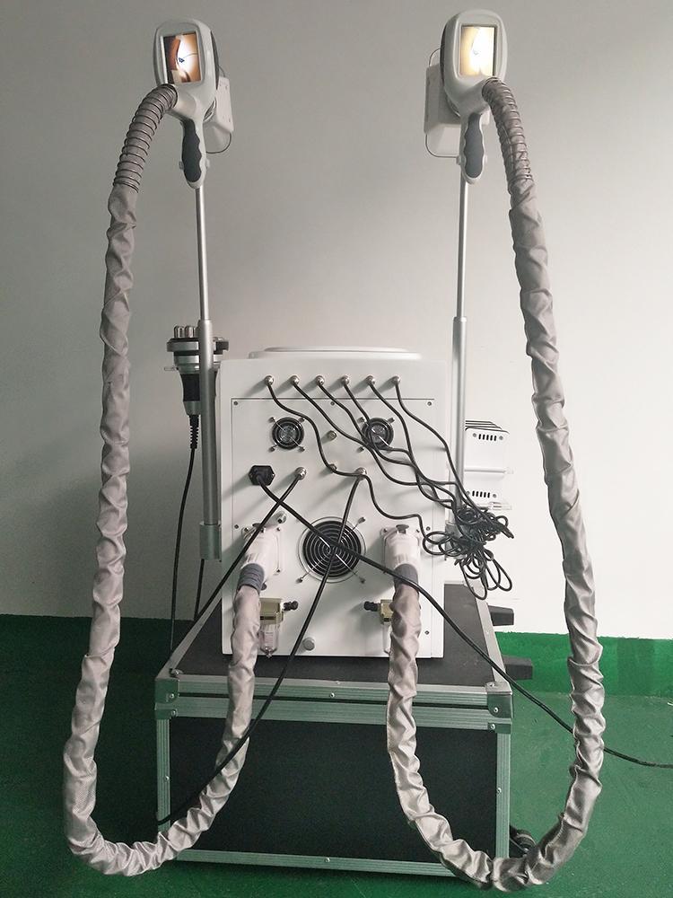 Corps de rf de lipo de machine de congélation de graisse de 6 EN 1 amincissant la perte de poids de machine de congélation