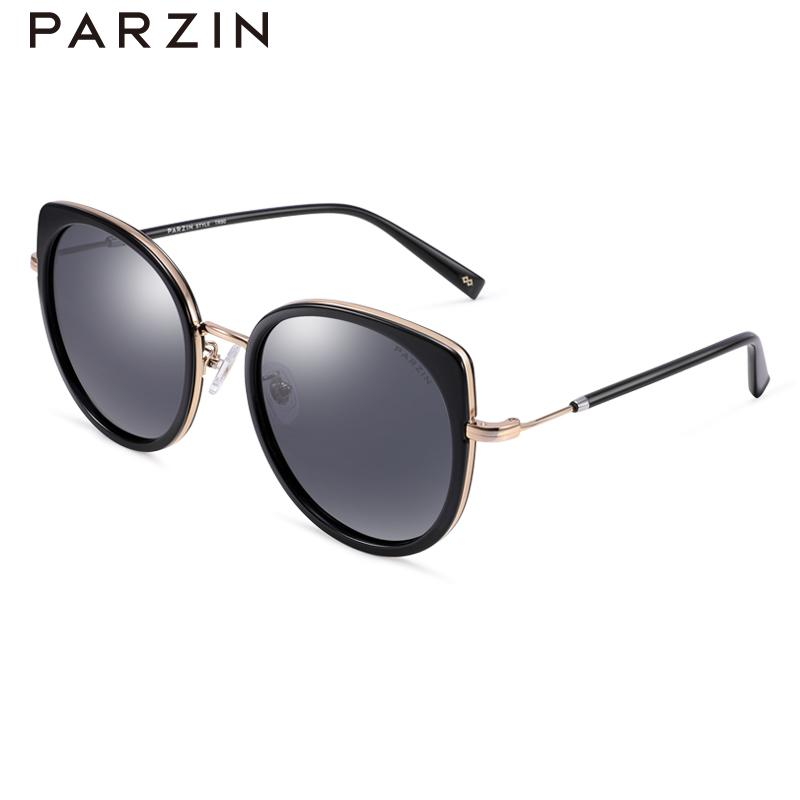 86d30a4528 PARZIN 2018 Fashion Polarized Sunglasses For Women New Arrival Ultralight  TR90 Metal Frame Driving Glasses Anti UV 9919 Foster Grant Sunglasses  Spitfire ...