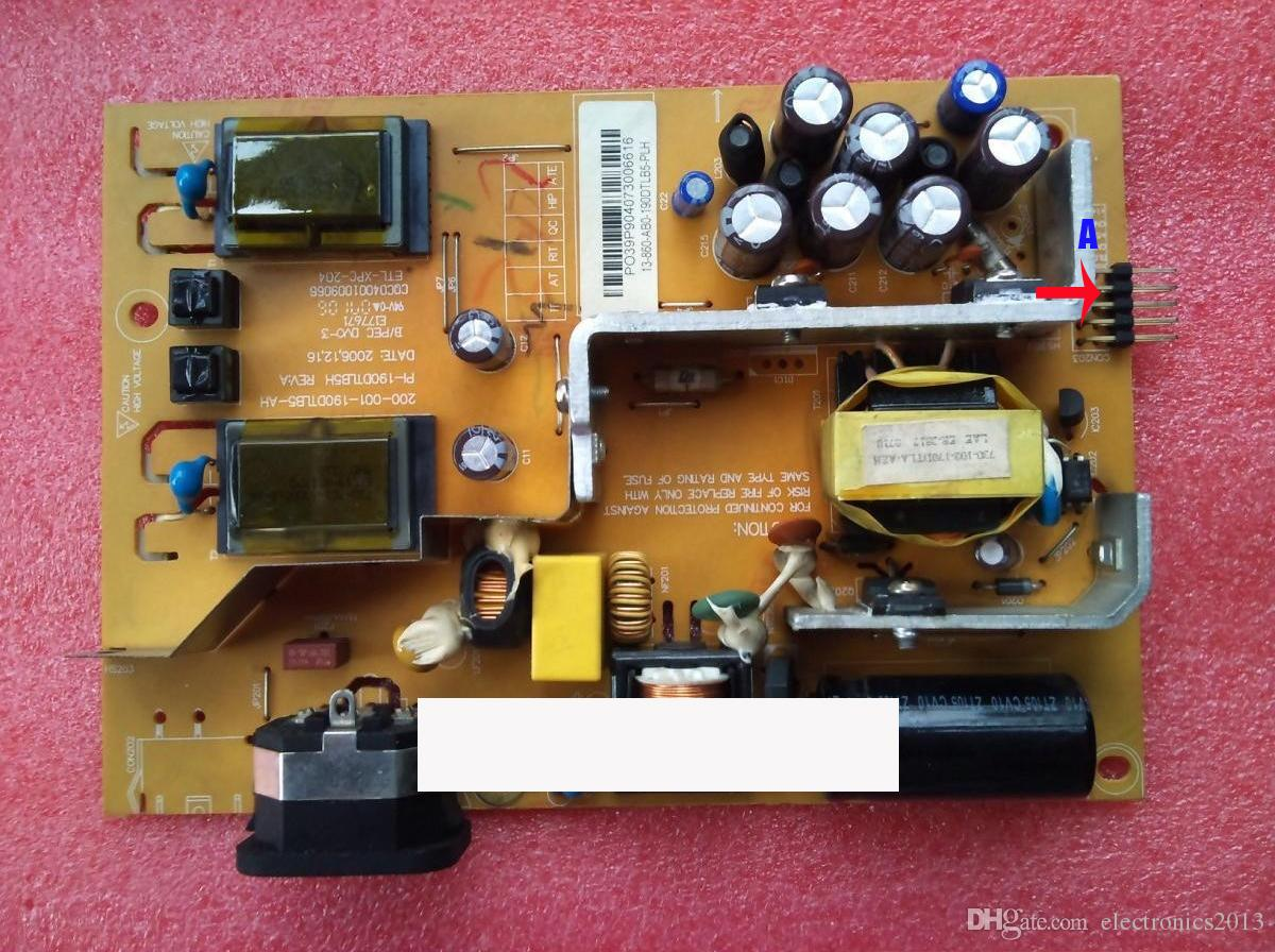 Original LCD Monitor Power Board Supply TV PCB Unit 200 003 190DTLB5 BH PI For Lenovo D223W D216W 900W L193 Wid Boards Tv From