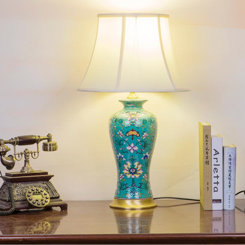 2018 famille rose jingdezhen chinese ceramic table lamp bedroom 2018 famille rose jingdezhen chinese ceramic table lamp bedroom living room dining room decoration antique table lamp from samanthe 45374 dhgate aloadofball Choice Image
