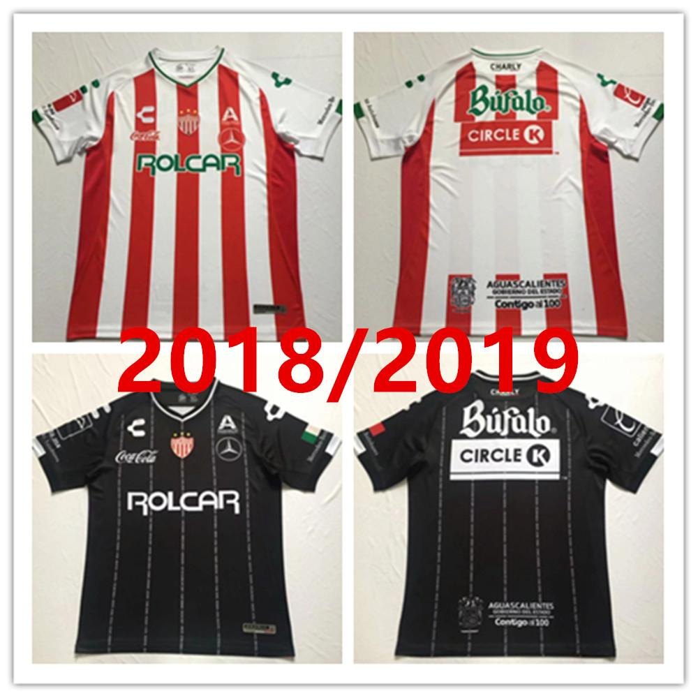 2034a2181 2019 2018 2019 LIGA MX Club Necaxa Soccer Jersey Home Red Away Road White  Jerseys 18 19 Thailand Quality Customize Adult Football Shirt From ...