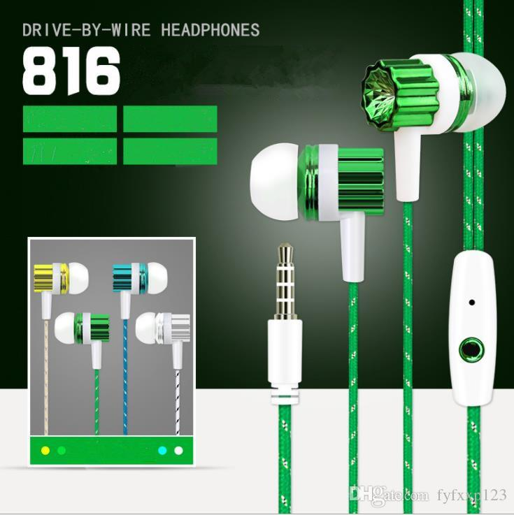 mic volume control stereo headsets in ear earphone earbuds headphones for  samsung note3 s5 s4 sful with box x29 cell phone bluetooth headset wireless