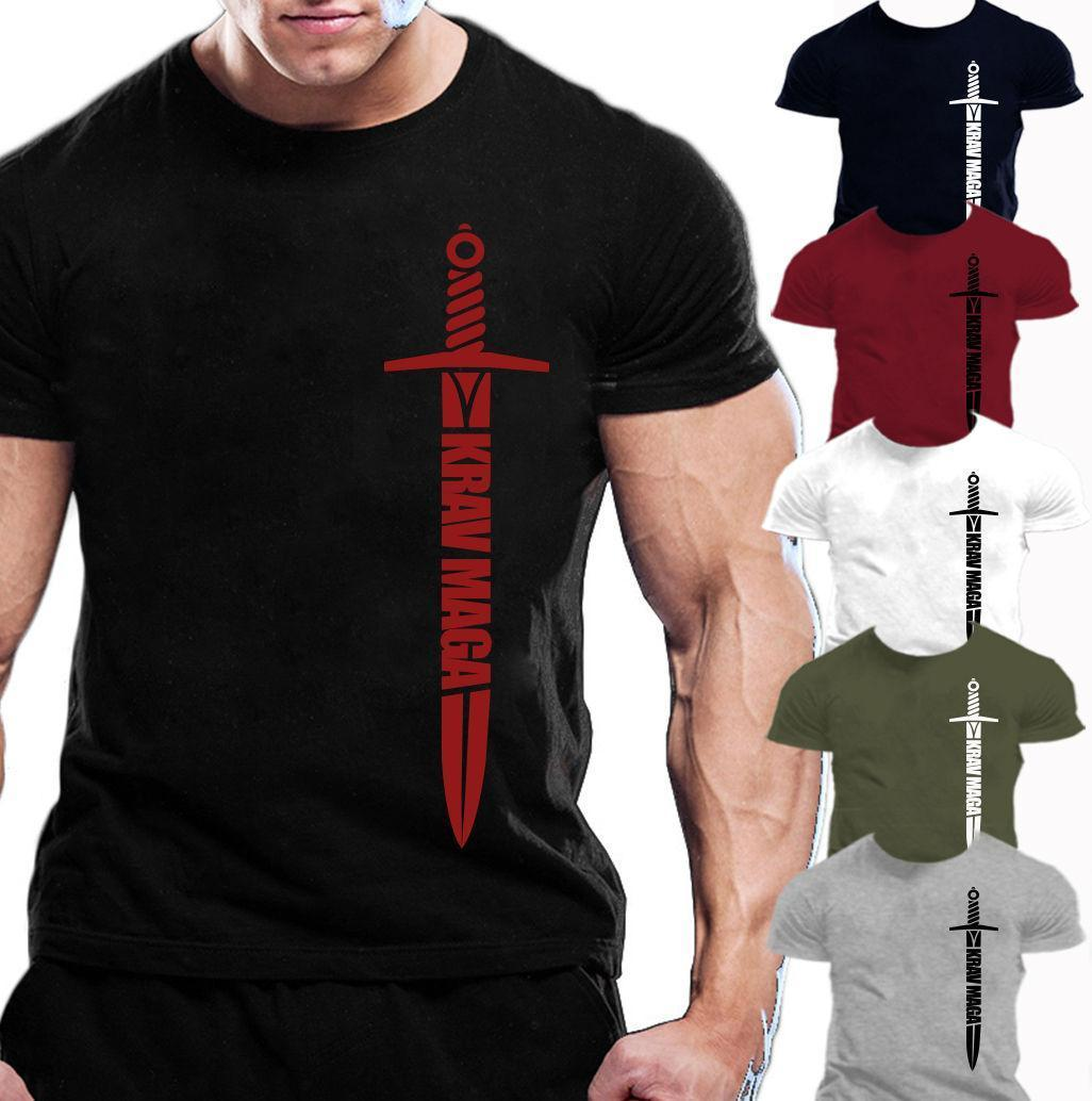 218d0bb7abc1 MENS KRAV MAGA T SHIRT TRAINING WORKOUT FIGHTING Really Cool Sweatshirts  The Following T Shirts From Linnan00004
