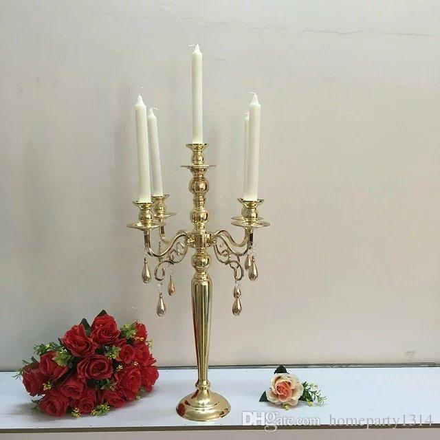 3arms 5 arms classic Candelabras wedding photo props table event Centerpieces candlesticks stand wedding chandelier home candle holder decor