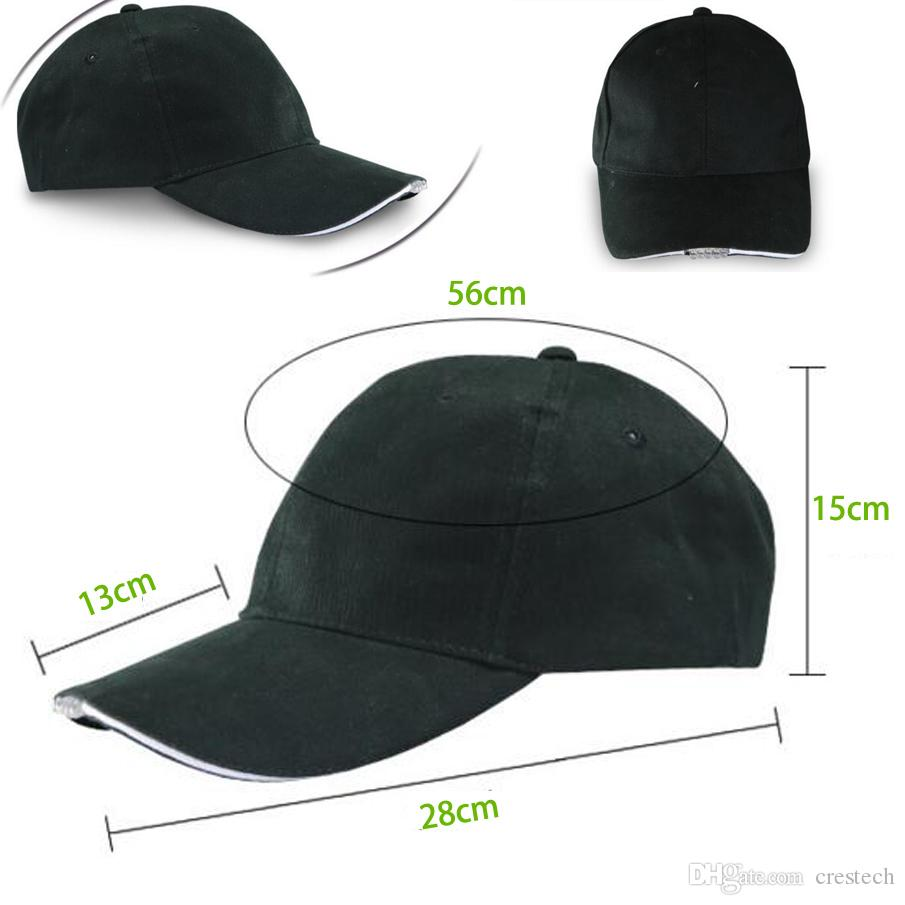 Led Hat, facilement réglable Light Up casquette de baseball clignotant lumineux femmes sport chapeau pour hip hop parti, jogging, camping, Noël