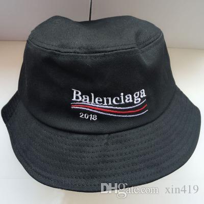 32413614f2aa Sombrero de diseñador de moda para mujeres para hombre Gorras de pesca  plegables