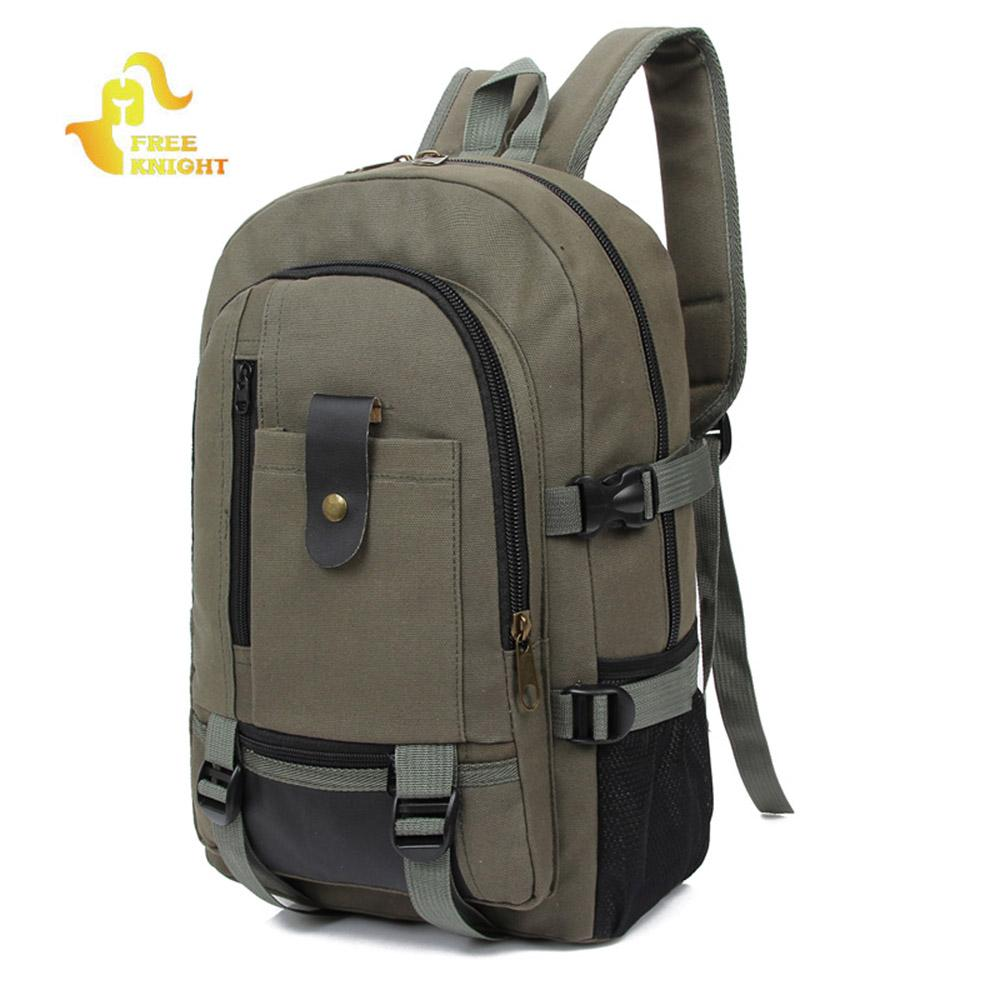 81fe97e46b55 Free Knight 20L Trendy Outdoor Large Capacity Canvas Backpack For Men  Climbing Cycling Hiking Shopping Traveling Backpacks Herschel Backpacks  Best Backpacks ...