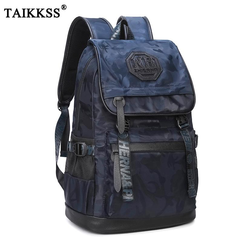 6587ba1999 New Fashion Oxford Camouflage Men Oxford Backpack Preppy Style School Bag  Travel Business Laptop Back Pack Big Capacity Backbag Backpack Online with  ...
