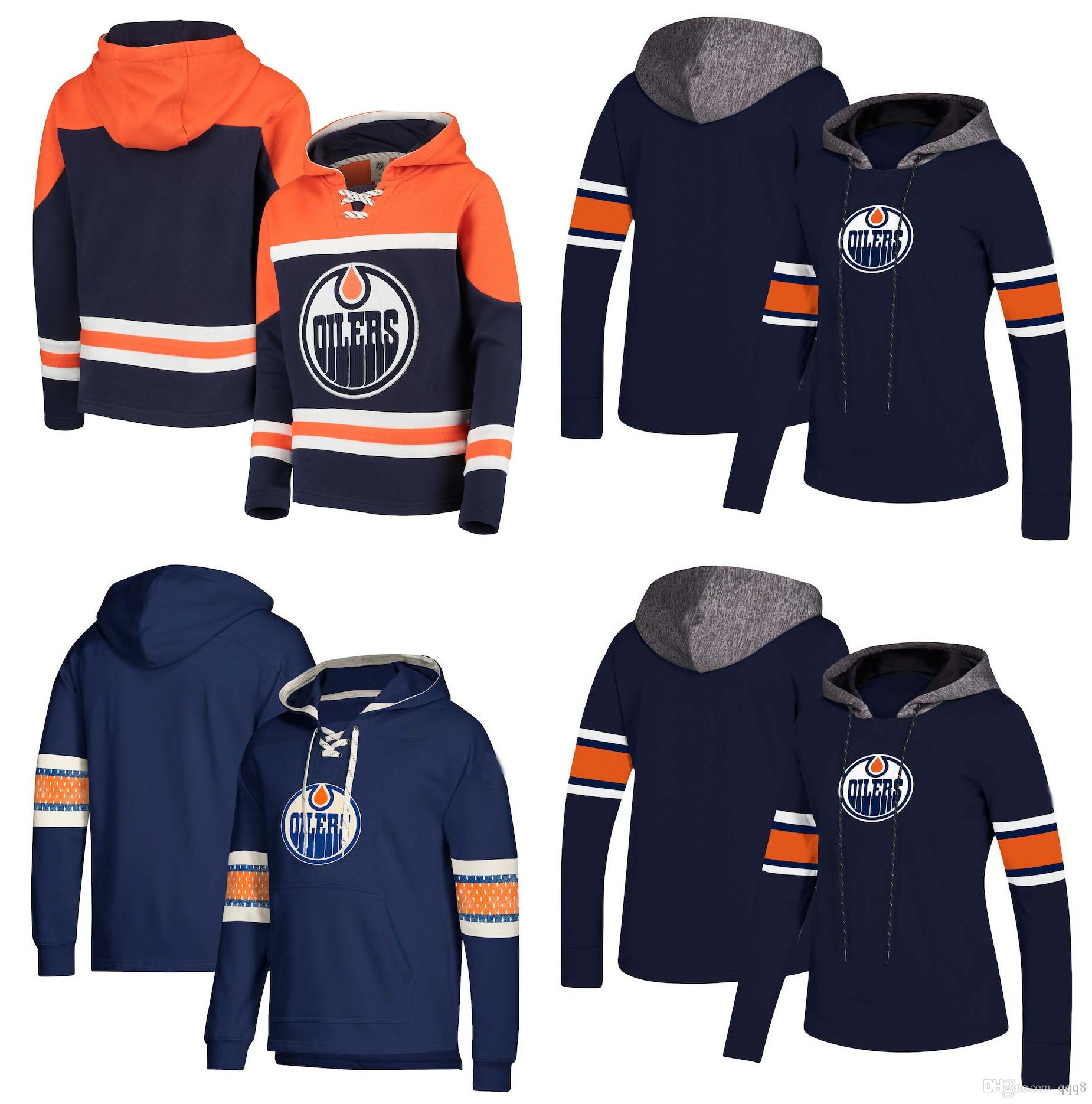 Edmonton Oilers Hoodie Jersey Connor McDavid Andrew Ference Leon ... c8fe16b91