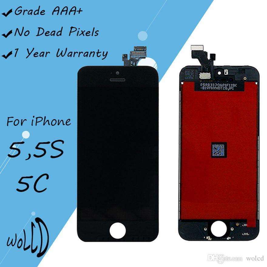 ad36ef7d2d9 Pantalla Super Amoled Caracteristicas Grado Aaa Pantalla Táctil Lcd Para El  Iphone 5 5c 5s Digitalizador Con Paneles De Reemplazo De Marco Blanco Negro  ...