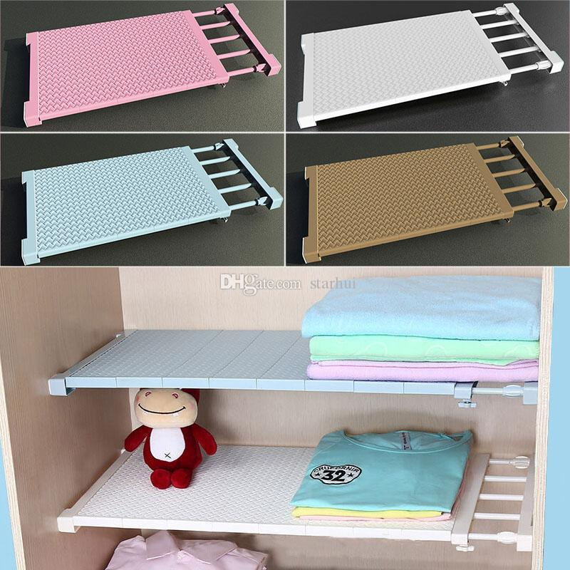 2019 adjustable closet organizer storage shelf wall mount kitchen rh dhgate com