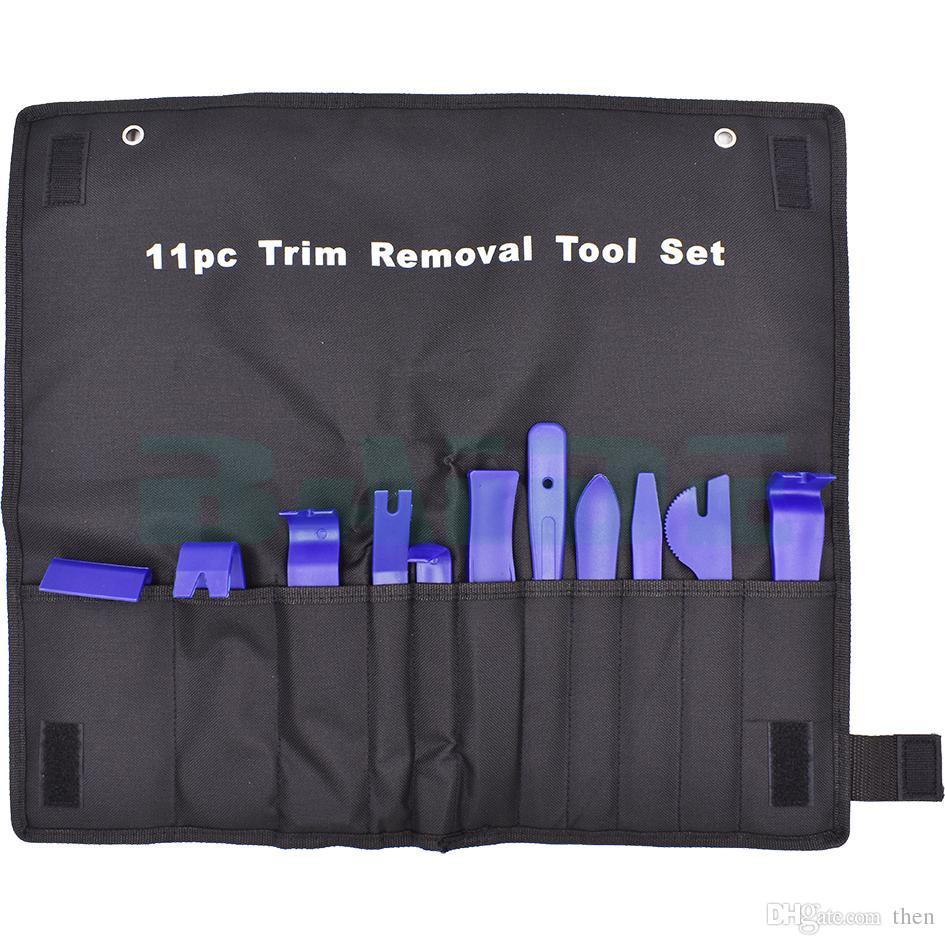 11 قطع البلاستيك إصلاح حدق أداة راديو السيارة الباب كليب لوحة تريم داش إزالة الصوت ستيريو التثبيت نوعية جيدة لسيارات bmw