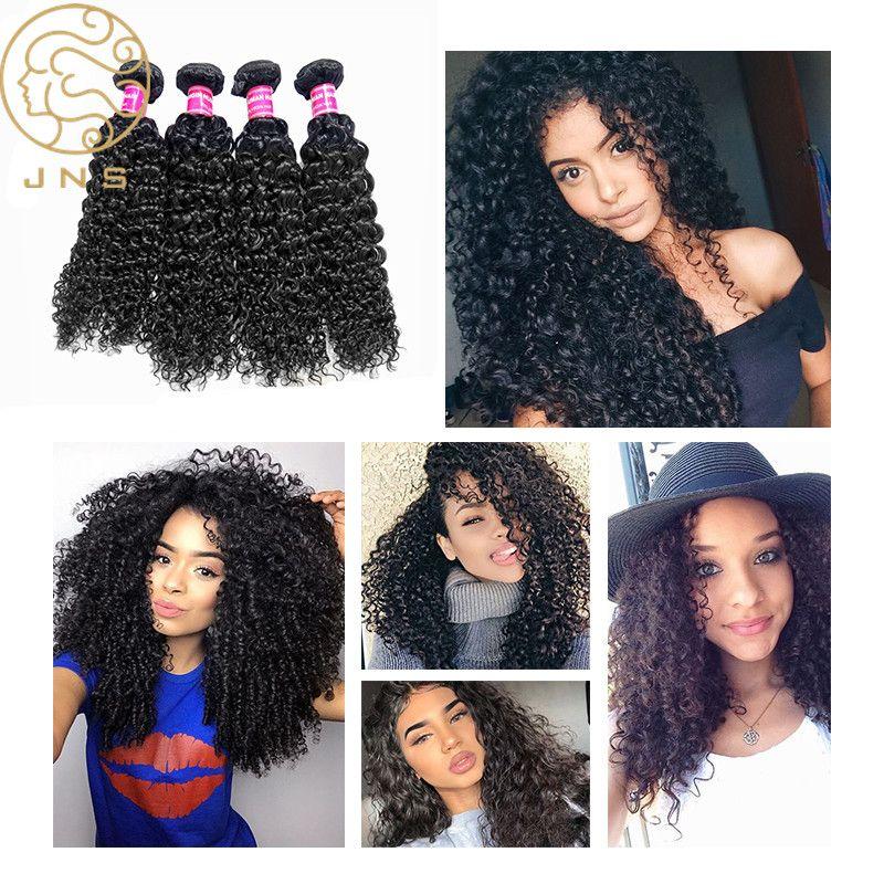 Cheap Virgin Chinese Jerry Curly Human Hair Weave 100 Human Hair