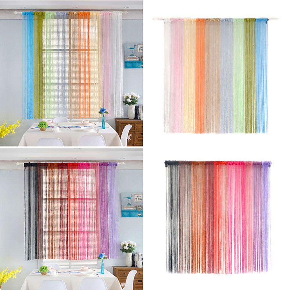 2018 Ishowtieada String Curtains Patio Net Fringe For Door Fly