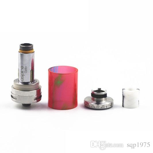 2018 new hot sell Reto epoxy resin transparent atomizer suction nozzle