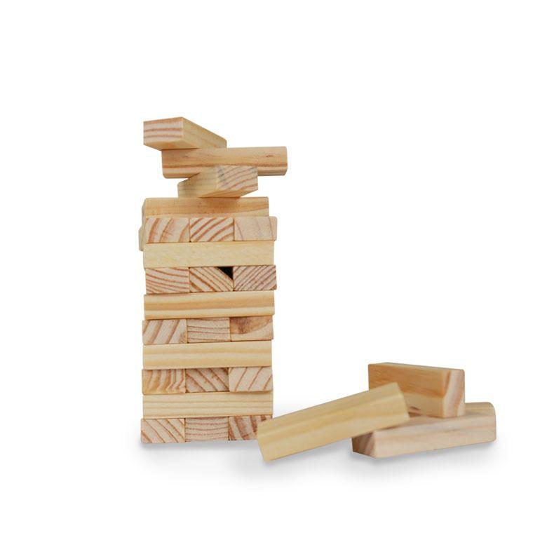 Compre Pequeno Tamano Pequeno Jenga Puzzle Set Juego De Mesa