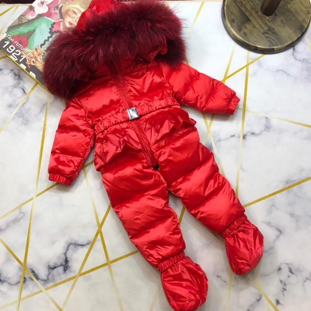 2019 Newborn Baby Girls Clothing Coral Winter Boy Rompers Cartoon