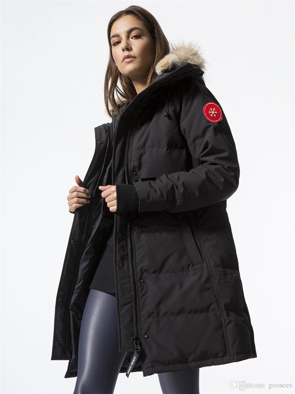 a2e17803b314 Canada CG Women's Shelburne Goose Down Parka Long Jacket with ...