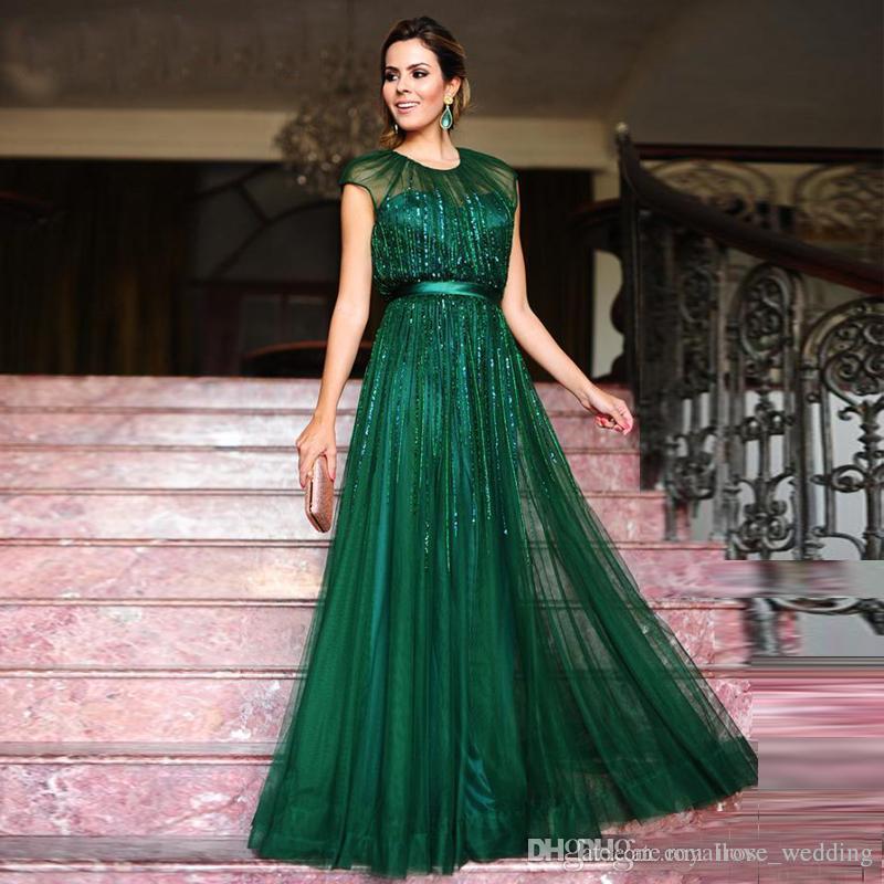 Vestidos verde para formatura