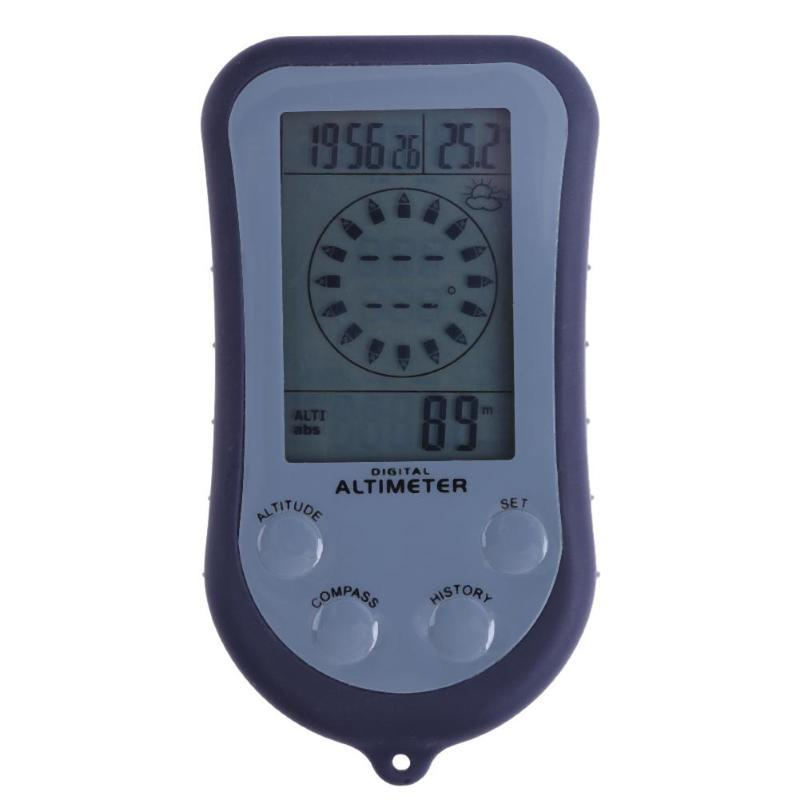 Thermometer and More Barometer 8-in-1Digital Altimeter with Compass Brand New