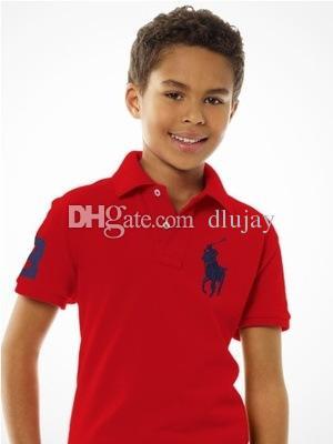 Compre Nueva Marca De Moda Para Niños Polo Camiseta Niños Solapa Manga  Corta Camiseta Chicos Tops Ropa Color Sólido Camisetas Niñas Algodón  Clásico ... 08d90294f3441