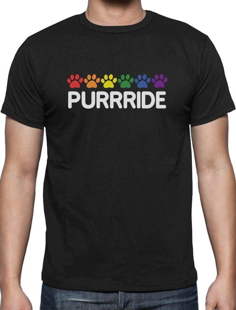 Purride Cat Paw Gay Pride Cat Lover Funny T Shirt Rainbow Flag Funny  Graphic T Shirts Funny T Shirts For Sale From Lijian042, $12.08  DHgate.Com