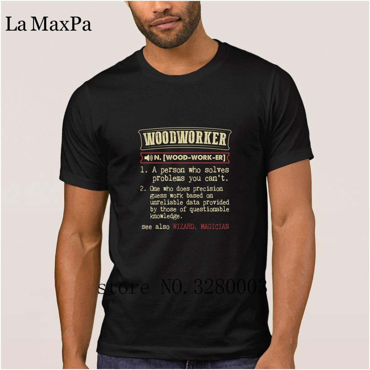 55b4ebdb9bab La Maxpa Printed Authentic Mens T Shirt Woodworker Dictionary Term Men S  Badass T Shirt Men Sunlight Letter Tshirt Male Hot Sale Short Sleeve Shirts  Cheap ...