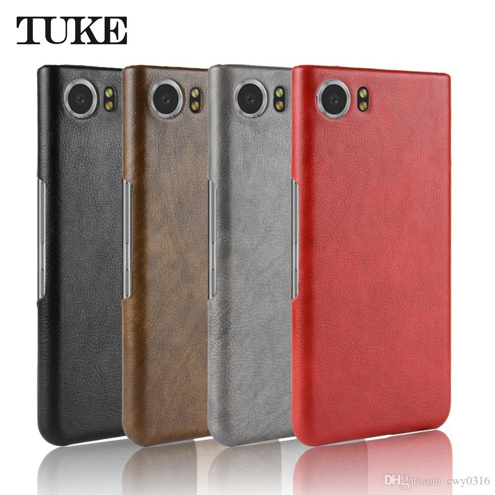 new concept 5a35b 5acc6 TUKE PU Leather Phone Case ForKeyOne Key 1 Hard PC Protective Back ...