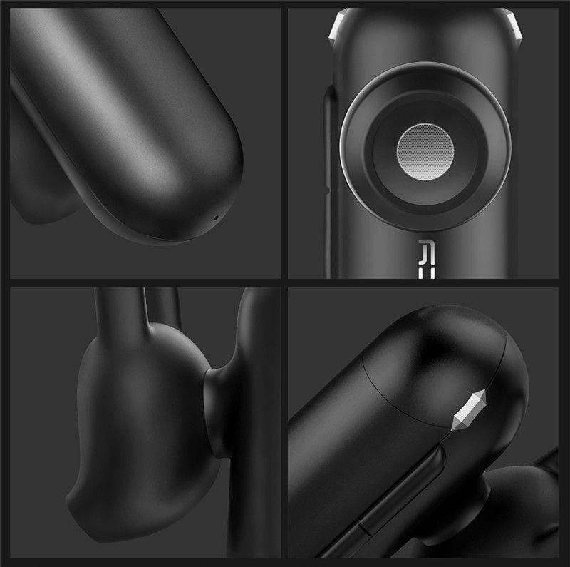 QCY Q12 en la oreja mini auricular manos libres auricular de negocios auricular inalámbrico bluetooth V4.1 con micrófono hd llamadas música del teléfono reproducir