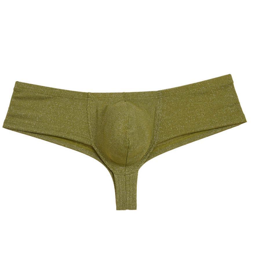 076ba06471c6 Sexy Men's Shiny Mini Cheeky Boxers Underwear Guys Bulge Pouch Brazilian  Bikini Soft Bottoms Boyshort