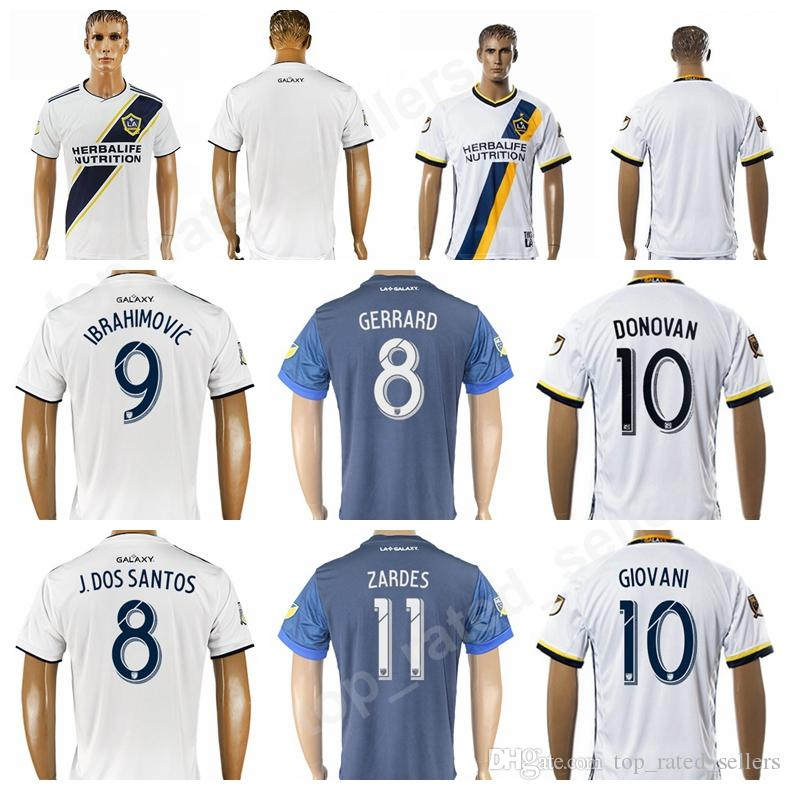7c7ecb45a 2019 Thai Quality LA Los Angeles Galaxy Football Shirt Kits 2018 2019  Custom Soccer 10 Landon Donovan Jersey 14 ROGERS 23 BECKHAM 10 GIOVANI From  ...