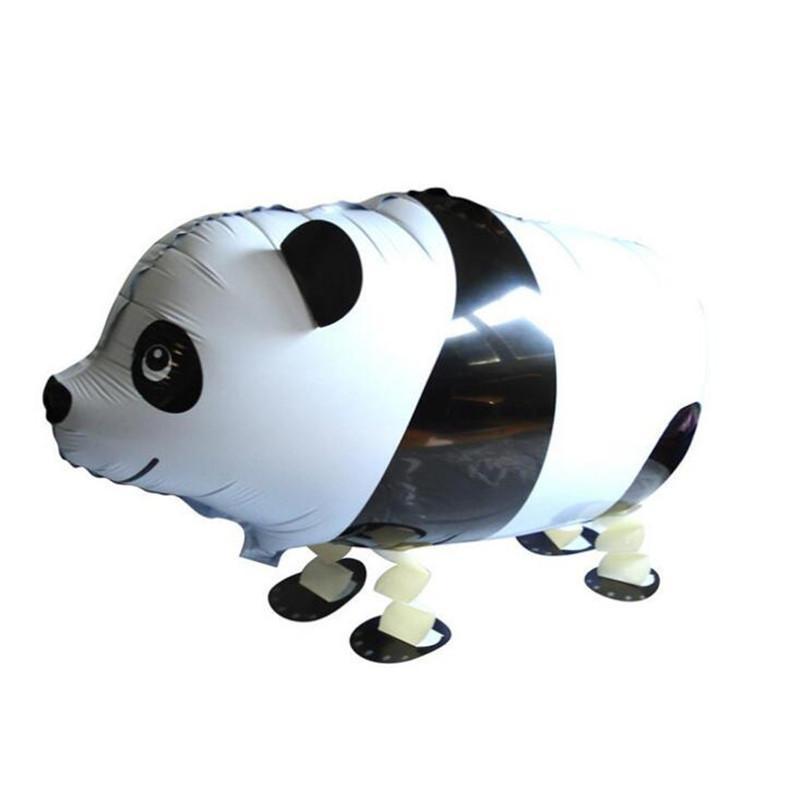 Aire inflable Caminando Globo Mascotas Papel de aluminio Globos Niños Juguetes Caminando Animales Globos Animales Forma Globo de helio al por mayor