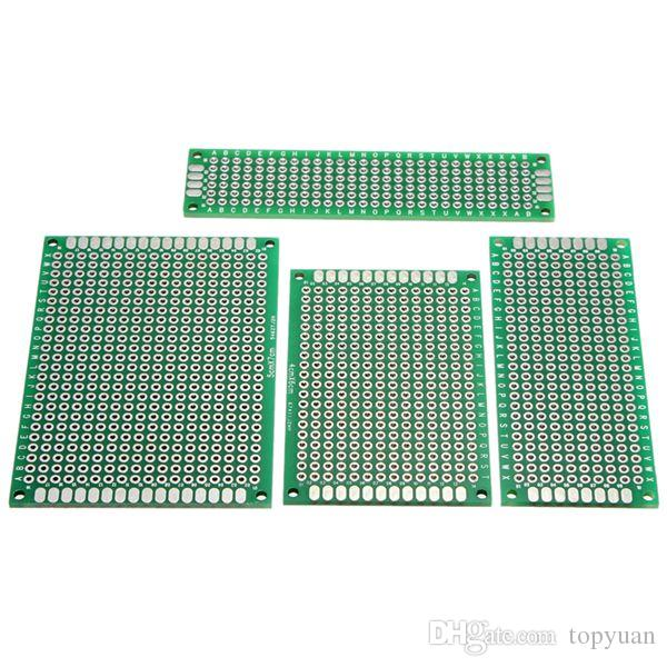 FR-4 2.54mm Double Side Prototype PCB Printed Circuit Board